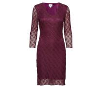 Lace Dress W 3/4 Sleeve