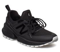 Ms574 Niedrige Sneaker Schwarz