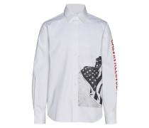 Flag Relaxed Hemd,
