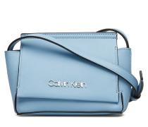 Stitch Flap Crossbod Bags Small Shoulder Bags/crossbody Bags Blau CALVIN KLEIN