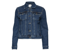 Slffreja Hayes Blue Denim Jacket W Jeansjacke Denimjacke Blau SELECTED FEMME