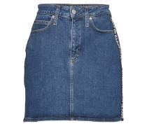 High Rise Mini Skirt Kurzes Kleid Blau CALVIN KLEIN JEANS