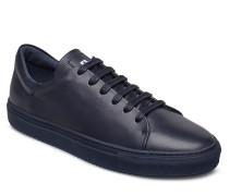 Sneaker Lt Block Calf Niedrige Sneaker Blau J. LINDEBERG