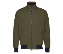 Nylon Jacket - Grs Bomberjacke Jacke Grün