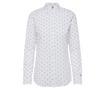 Farley Langarmhemd W2 Langärmliges Hemd Weiß