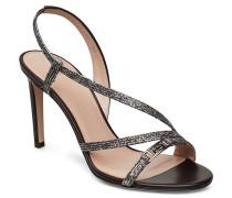 Mayfair Sandal 90-L Sandale Mit Absatz Schwarz HUGO
