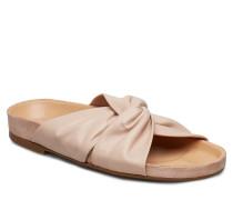 Sandals 8640 Flache Sandalen Beige
