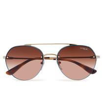 0vo4113s Pilotensonnenbrille Sonnenbrille Braun