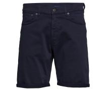 D1. Regular Desert Shorts Cargoshorts Blau GANT