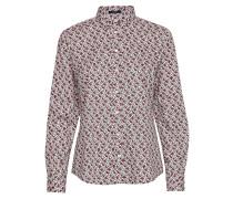 D1. Autumn Print Stretch Bc Shirt Langärmliges Hemd Bunt/gemustert