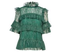 Rachel Blouse Bluse Kurzärmlig Grün