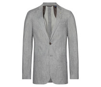 O2. The Stretch Linen Suit Jacket Blazer Jackett Grau GANT