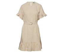Sandy Dress Kurzes Kleid Beige TWIST & TANGO
