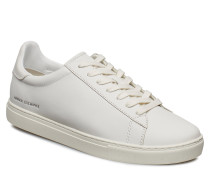 Man Leather Sneaker Niedrige Sneaker Weiß ARMANI EXCHANGE