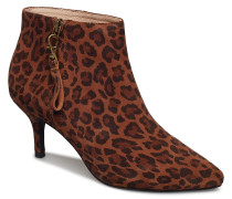 Agnete Gold Leo S Shoes Boots Ankle Boots Ankle Boots With Heel Braun