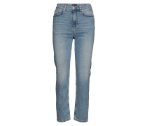 O2. Slim Cropped Hw Denim Jeans