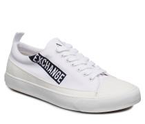 Man Woven Sneaker Niedrige Sneaker Weiß