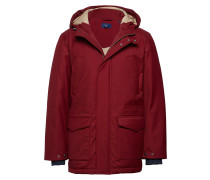 O2. The Down Parka Parka Jacke Rot