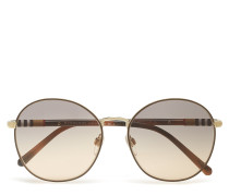0be3094 Sonnenbrille Gold