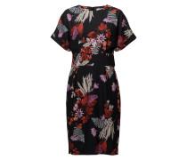 Greer Printed Dress Hw Kleid Knielang Schwarz INWEAR