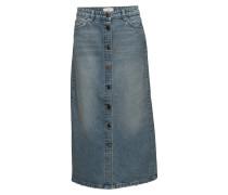 Wall Denim Skirt