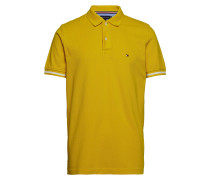 Basic Tipped Regular Polohemd Kurzarm-Shirt TOMMY HILFIGER