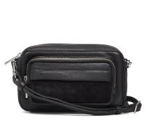 Aurora Crossbody Bag,Suede Mix Bags Small Shoulder Bags/crossbody Bags Schwarz MARKBERG