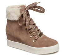 Windy High Sneaker Boots Knöchelhohe Stiefel Beige
