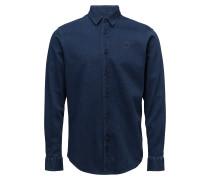 Ebrington Indigo Regular Hemd