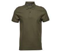 Troy Clean Pique Polohemd Kurzarm-Shirt Grün J. LINDEBERG