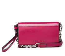 Dressed Up Pouch On Chain Bags Small Shoulder Bags/crossbody Bags Pink CALVIN KLEIN
