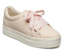 Aurora Low Schnürschuhe Niedrige Sneaker Pink