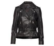 Slfmaria Leather Jacket B