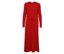 Nabaiw Dress Kleid Knielang Rot INWEAR