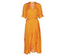 Kweller Kleid Knielang Orange RODEBJER