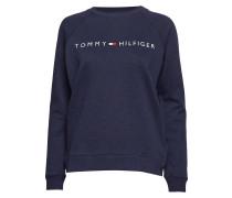 Track Top Ls Langärmliger Pullover Blau TOMMY HILFIGER