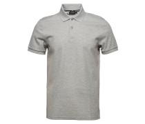 Troy Clean Pique Polohemd Kurzarm-Shirt Grau J. LINDEBERG