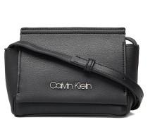 Stitch Flap Crossbod Bags Small Shoulder Bags/crossbody Bags Schwarz CALVIN KLEIN