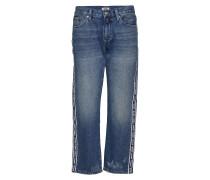Girlfriend Crop Tj 2 Boyfriend-Jeans Blau TOMMY JEANS