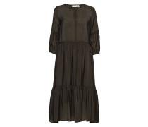 Scotia Dress Kleid Knielang Grün INWEAR