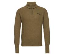 Ulriken Jumper Sweatshirts & Hoodies Mid Layer Jackets Grün BERGANS