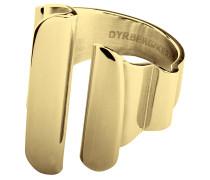 Pleat Ring Schmuck Gold DYRBERG/KERN