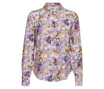 Posbeatrice Shirt Langärmliges Hemd Lila
