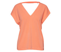 Yamini V-Back Top Bluse Kurzärmlig Orange INWEAR