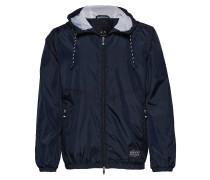 Man Woven Blouson Jacket Dünne Jacke Blau ARMANI EXCHANGE