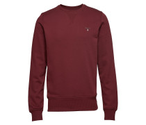 The Original C-Neck Sweat Langärmliger Pullover Rot