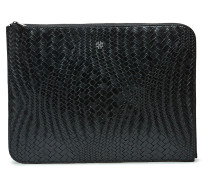 Day Plaiting Folder Bags Kreditkartenhalters & Wallets Wallets Schwarz DAY ET