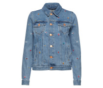 Regular Trucker Jacket Grtlb Jeansjacke Denimjacke Blau