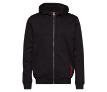 Dondy Sweatshirts & Hoodies Zip Throughs Schwarz