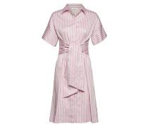 Dress Woven Fabric Kleid Knielang Pink GERRY WEBER